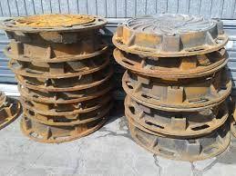 Люки чугунные тип Т 40 тонн с шарниром на замке 118 кг Алматы - изображение 3