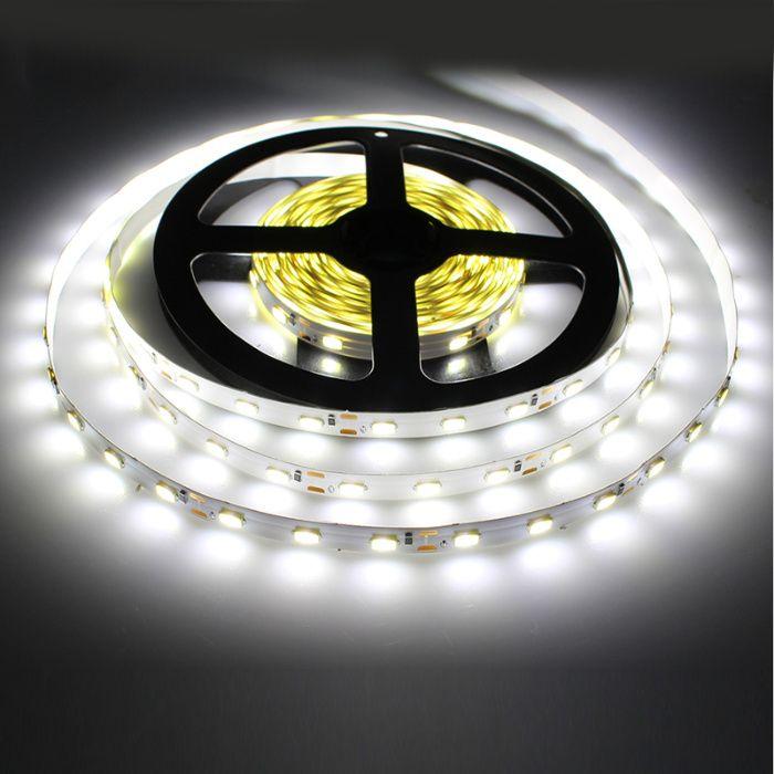 Свето-диодная LED лента SMD цвет белый тёплый/холодный питание 12вольт