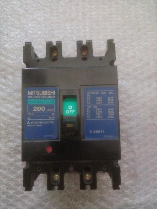 Автоматический выключатель 3-фазный, 150A, NF250-CS