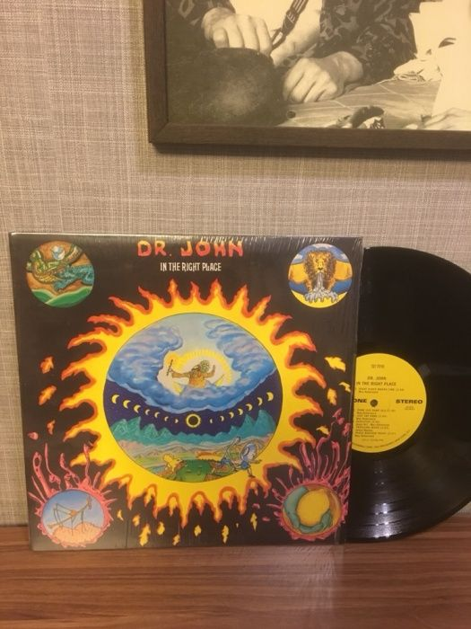 """Виниловая пластинка - Dr. john """"in the right place"""""""
