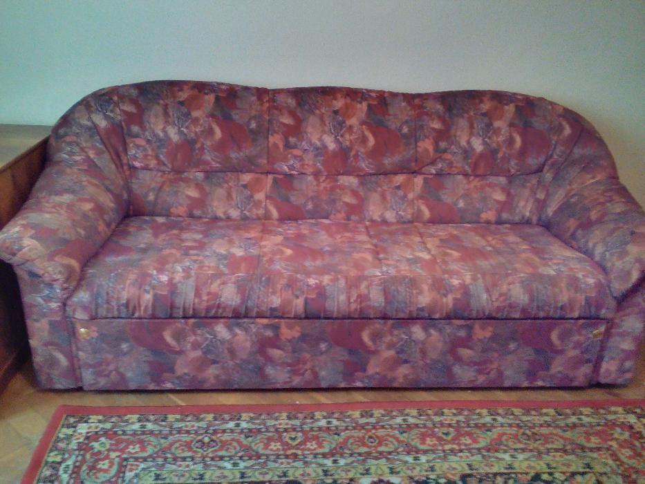 Vand canapea extensibila 3 persoane cu fotolii