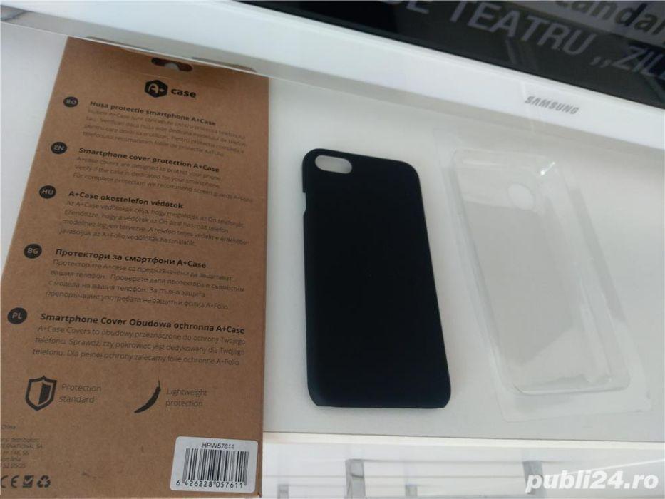 Vand husa de protectie case rubber, pentru iphone 8, negru