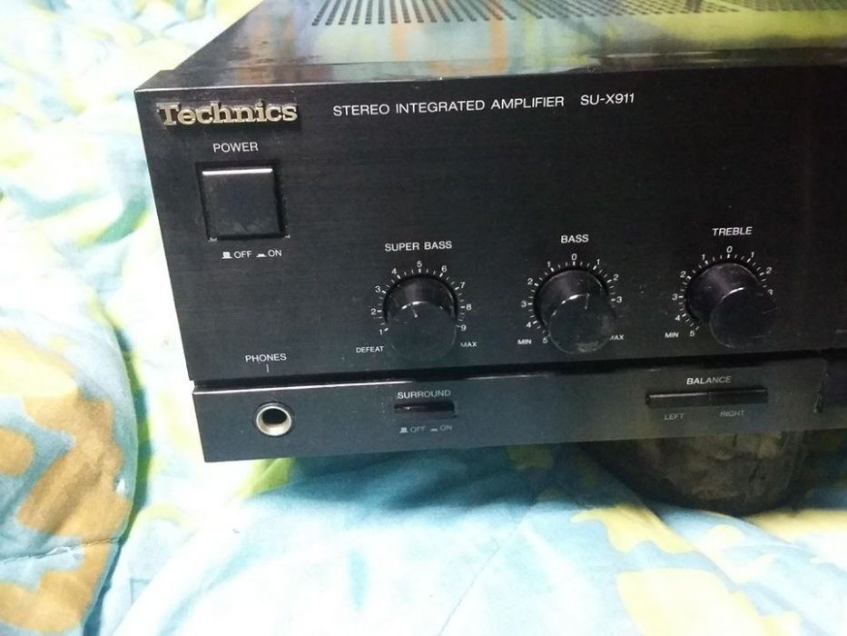 Amplificator TECHNICS SU-X911 new Class A,perfect functional,de Colect