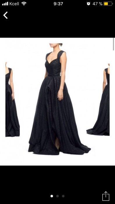 Вечернее платье дизайнерское новое с этикеткой