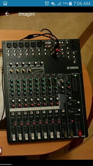 mixer yamaha mg124cx