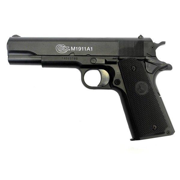 Pistol PUTERNIC Colt SEMI-FULL METAL 1911 RAIL /C02 Cybergun/Airsoft