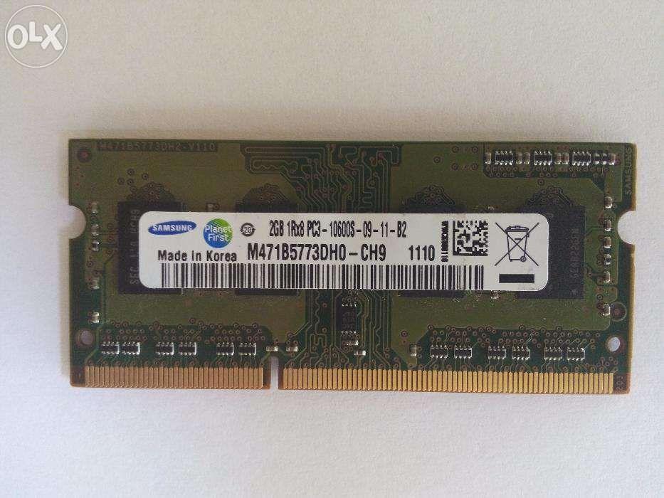 Memorie laptop 2g Samsung ddr3 PC3-10600 M471B5773dh0-CH