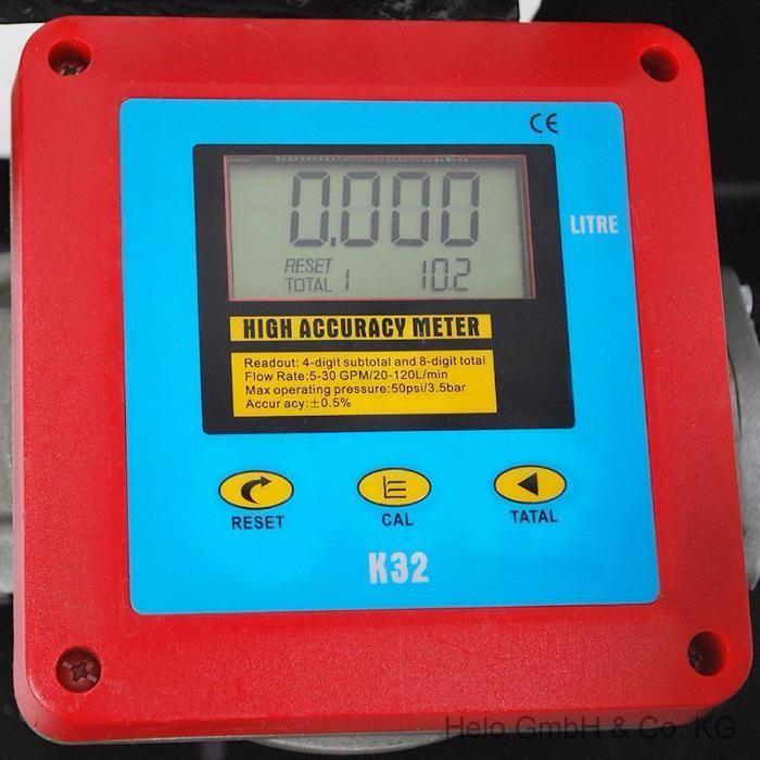 Pompa transfer motorina 60l/min cu contor digital+filtru motorina Timisoara - imagine 5