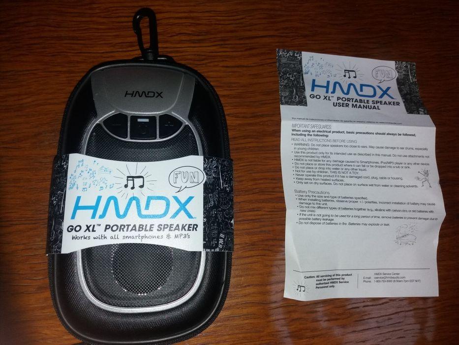 Boxa portabila HMDX Portable Speaker