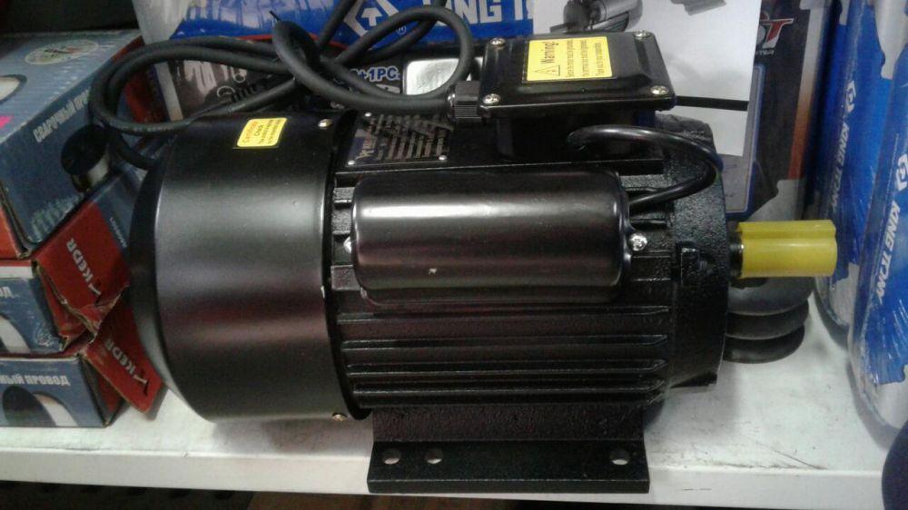"Электродвигатель на компрессор,циркулярку 2.2 кВт и 3 кВт ""Кедр"""