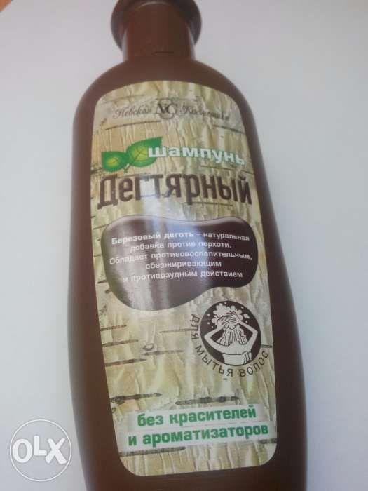 Sampon / gel dus cu gudron de carbune rusesc pt. psoriazis si matreata