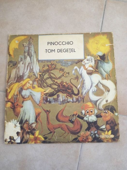 Disc vinil povesti - Pinocchio, Tom Degetel
