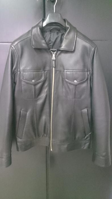 Страхотно мъжко яке-100% естествена кожа