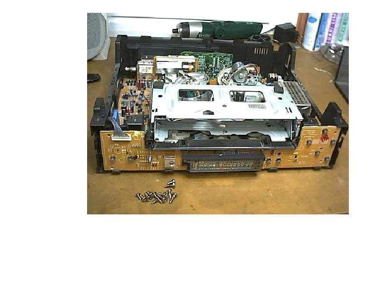 Service, reparatii video vhs schimbat curele, mecanica