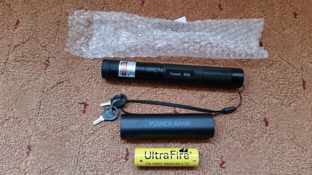 Laser verde Incarcator usb NOU