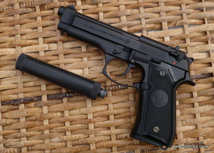 Pistol PUTERNIC (F. RAR) AUTOMATIC cu aer comprimat Airsoft +Bonus Co2