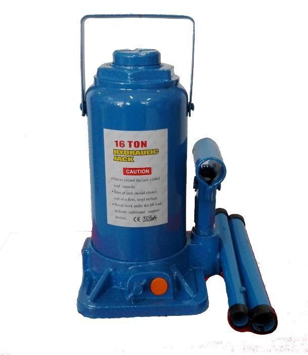 16 т Крик хидравличен бутилков с предпазен клапан