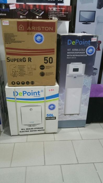 Termo acumuladores depoint 50L novos na caixa