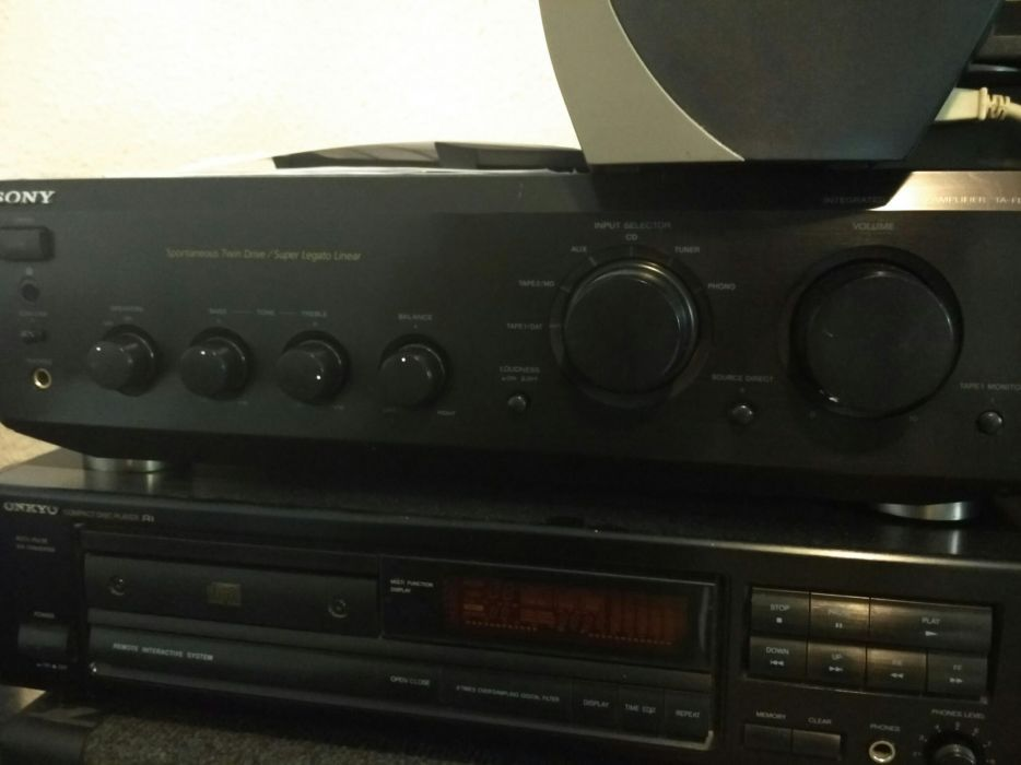 Amplificator audio Sony ta-fe 530