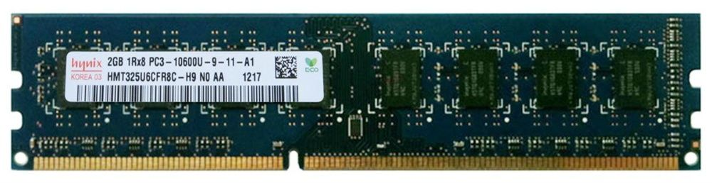 Memorie Calculator 2GB DDR3 1333Mhz PC3-10600U