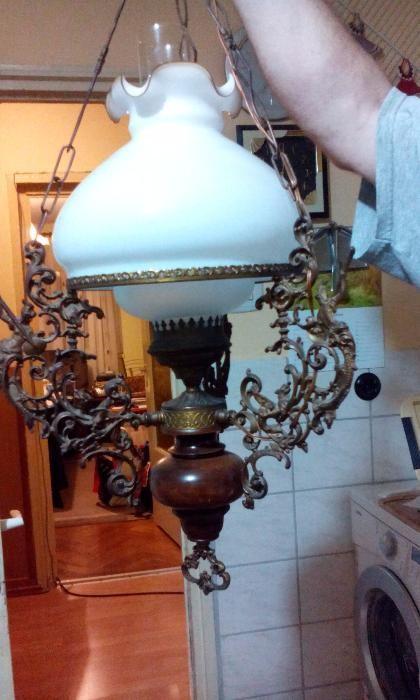 Lustra veche completa/Antichitati/Arta/Decor/Cadouri/Vintage