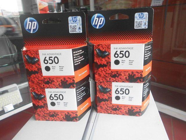 Tinteiros HP 650 preto