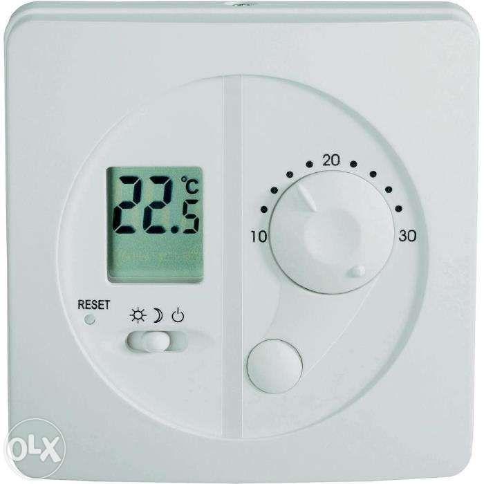 Termostat de cameră cu fir si afişaj digital Conrad/Germania