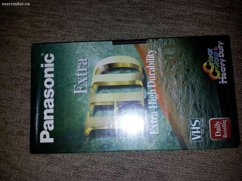 Caseta VHS Panasonic E-180 noua sigilata