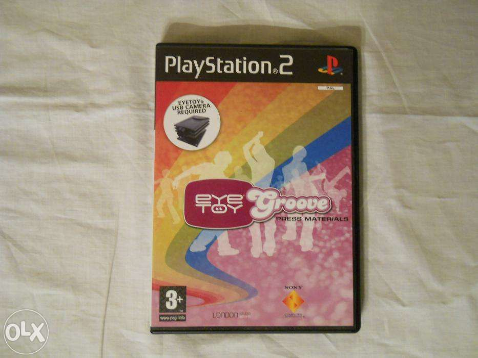 Joc PS2 EYE TOY Groove, varianta de lansare la Londra, absolut nou