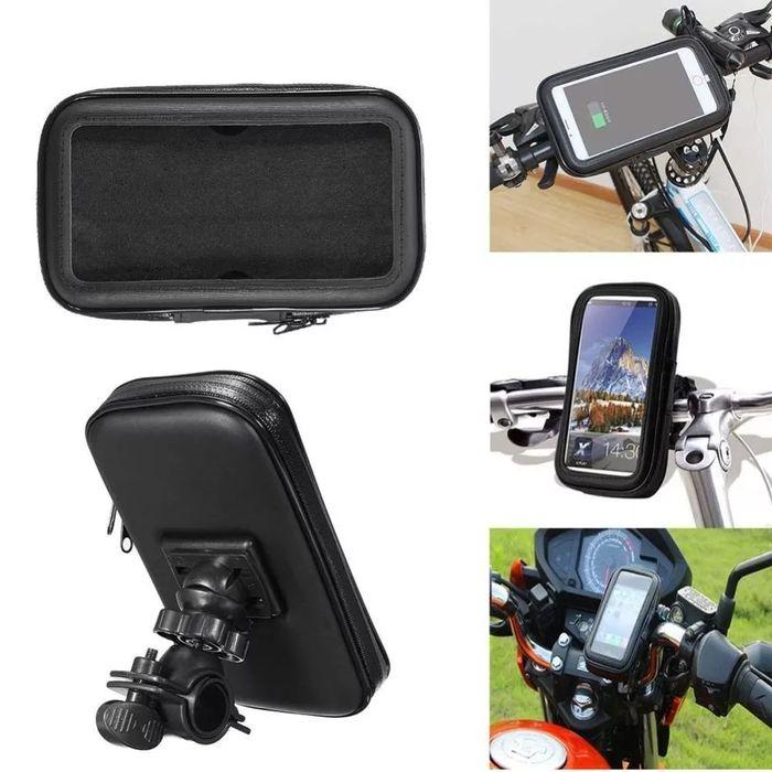 Suport de telefon pentru motocicleta bicicleta scuter L si XL