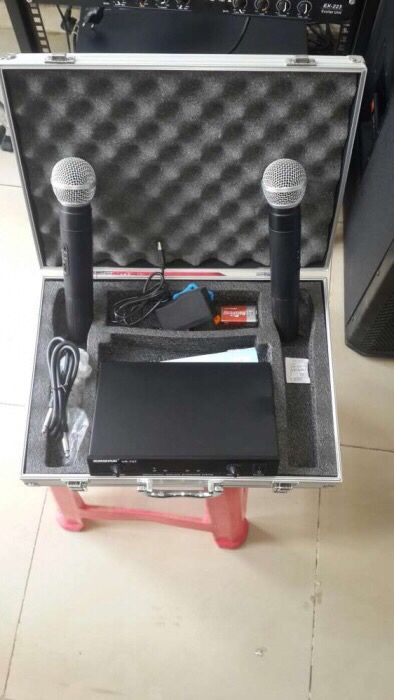 Microfone disponível