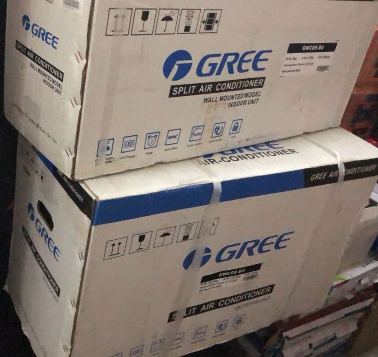 Ar-condicionado Gree 9000Btu selados