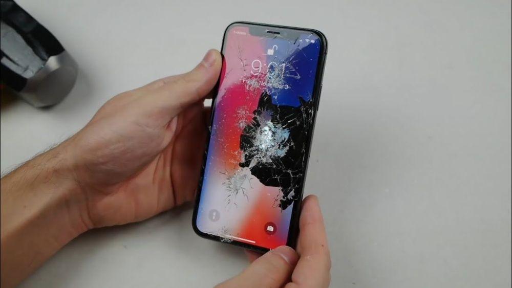 Ремонт iPhone X в Алматы - замена дисплея, корпуса, задней крышки
