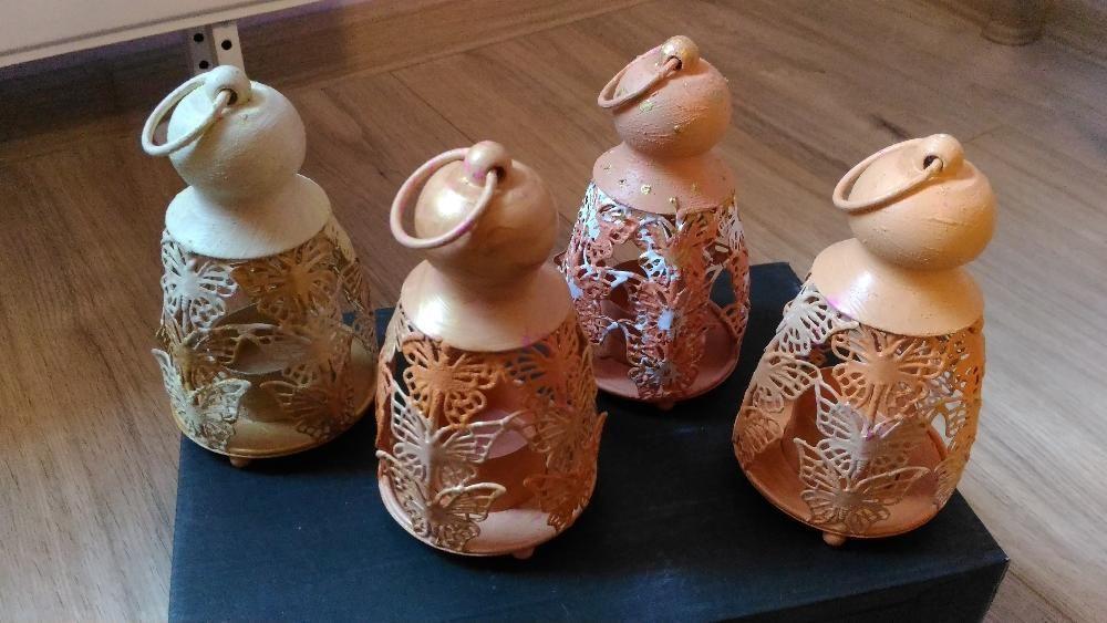 Декоративни свещници с пеперуди