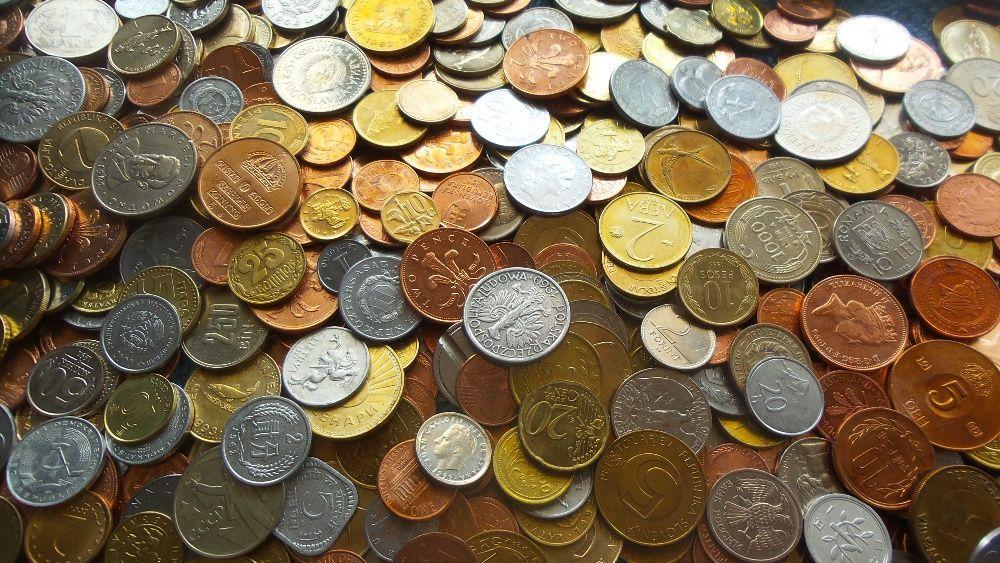 1 kilogram monede = stare excelenta de conservare!