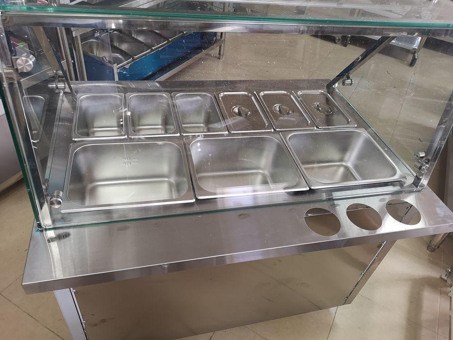Бен Мари Топла витрина комбинирана с водна баня и зона за готвене