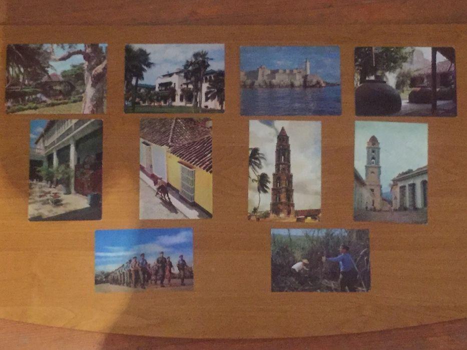 Картички от Куба - 10 бр.