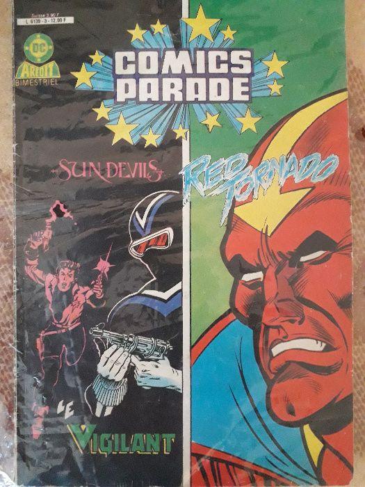 Banda desenata Sun Devils/Red Tornado anii '80 in lb. franceza