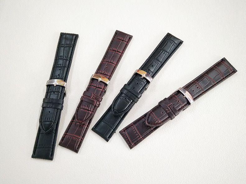 Кожаные ремешки на часы со скидкой 50 % (кожаный ремешок)