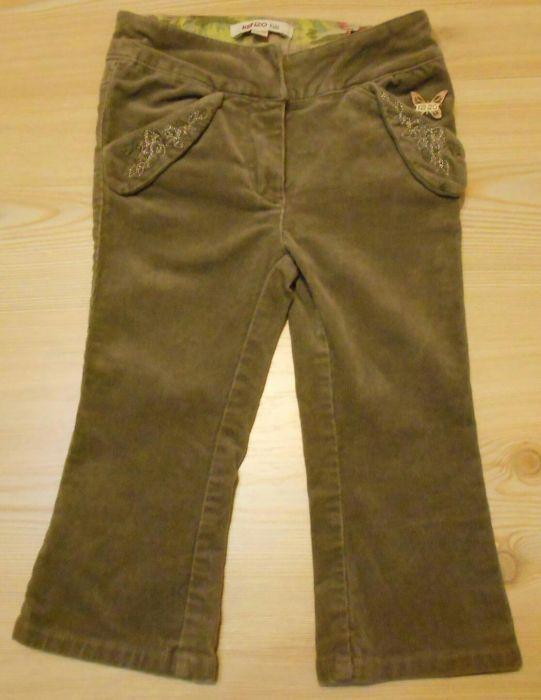 Pantaloni raiat copii KENZO BUTTERFLY Girls marimea 86 (2A)