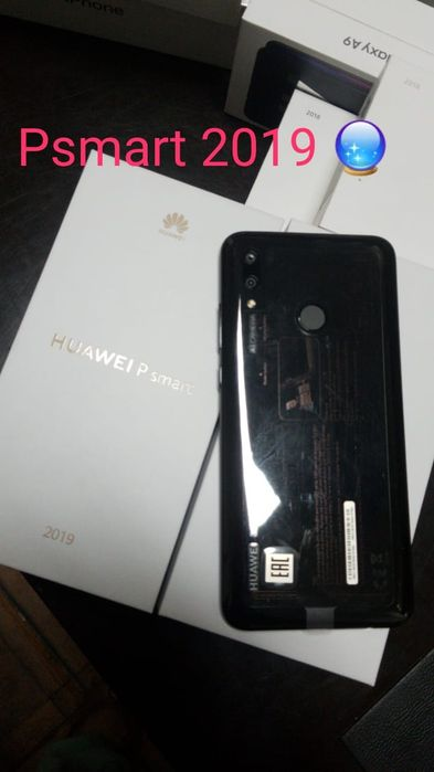 Huawei P Smart 2019 Dual sim 32GB cores disponíveis selados