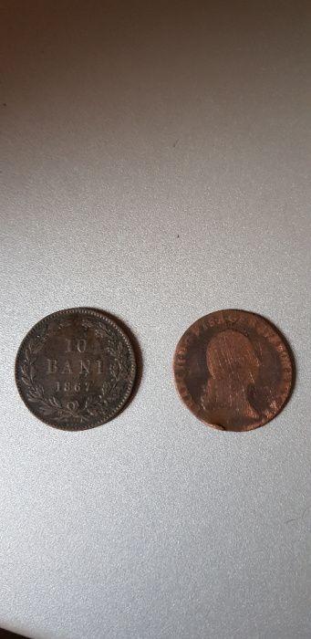 Monede vechi din bronz