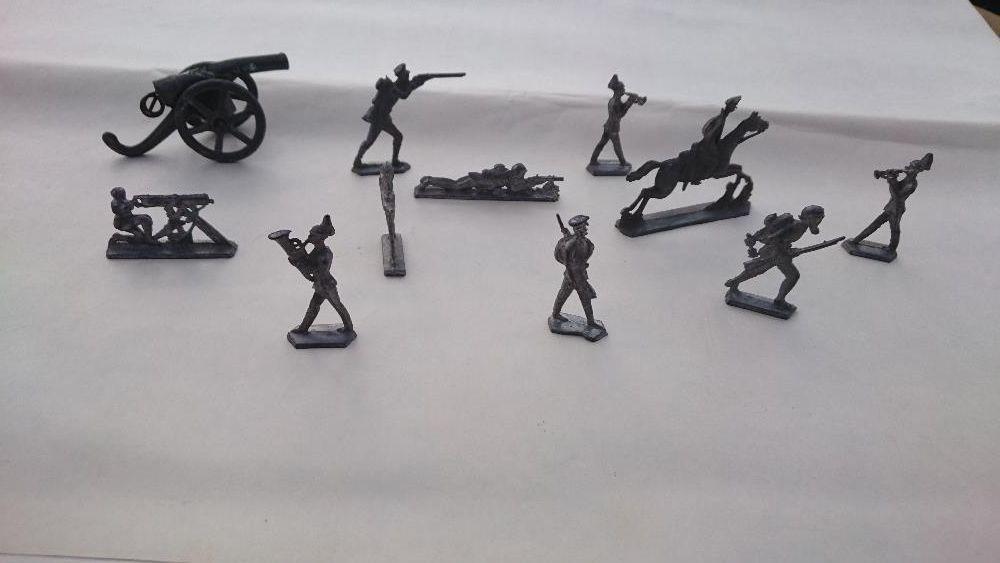 Стари оловни войници от Първата св.война 15лв.