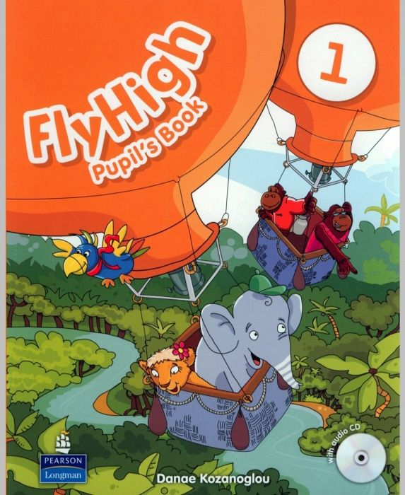 Продам Учебник и activity book Fly High 1