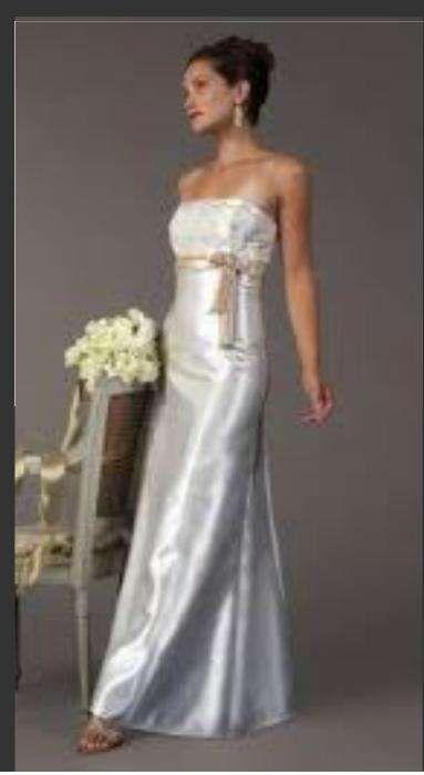 rochie d mireasa,cununie,stare civila, jessica mcclintock model A