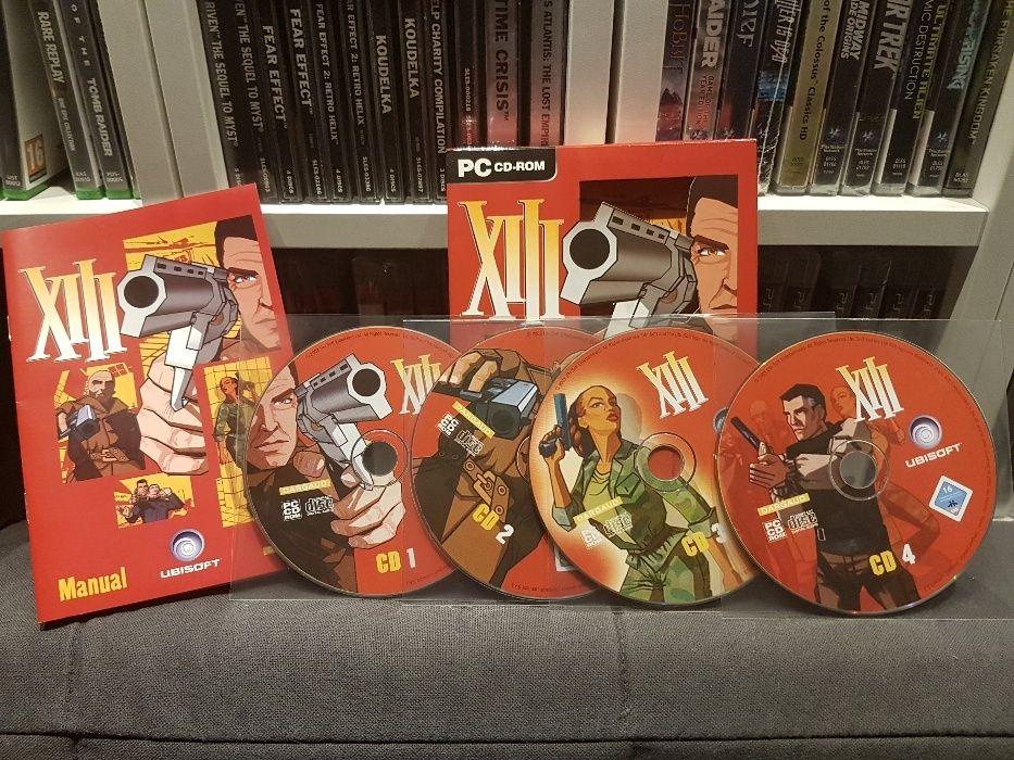 XIII PC BOX FPS Shooter De Colectie