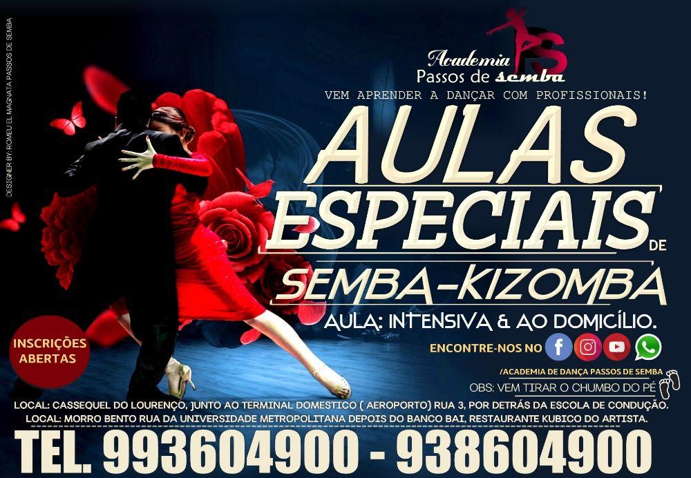 Aulas especiais de Semba & Kizomba