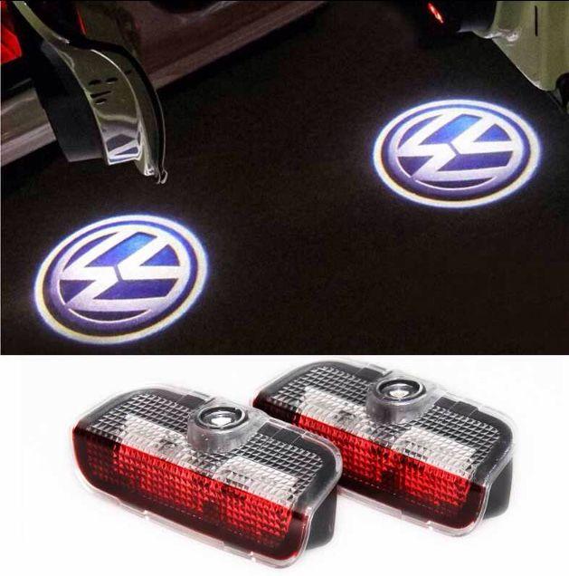 Set lampi logo portiere + lumini ambientale - Volkswagen Passat Golf..