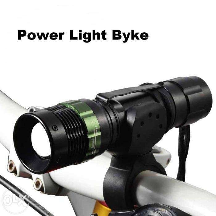 Far Bicicleta Power Style CREE Led + STOP Leduri + Suport Ghidon NOU