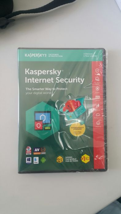 **Promoção*** Antivírus Kaspersky Internet Security 2019 - 4 usuários